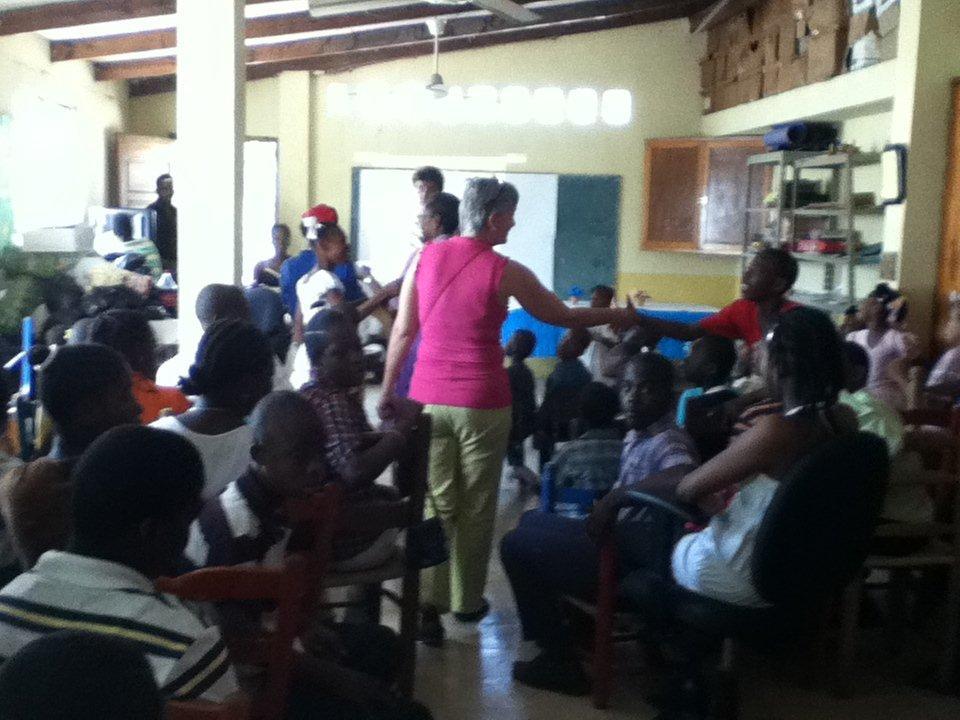 Haitian School for Disabled Children