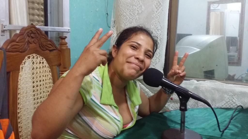 Radio station in San Juan del Sur, Nicaragua