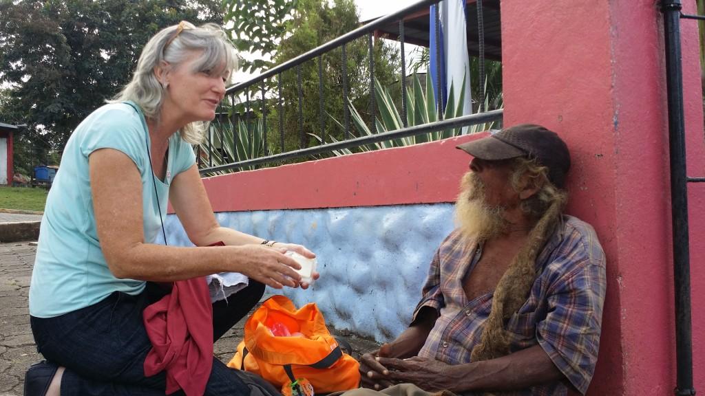 Homeless man Don Esmilio
