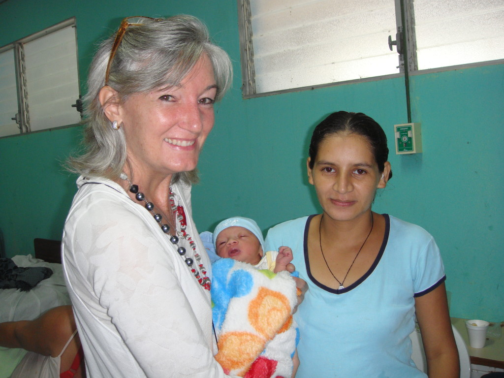 Young mother from San Juan del Sur, Nicaragua