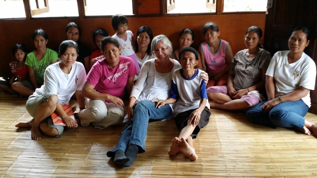 Women from the village of Ukit-Ukit