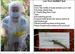 Low Tech Hazmat Suit